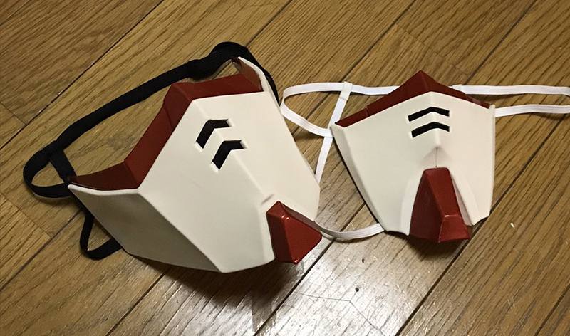 gundam face mask