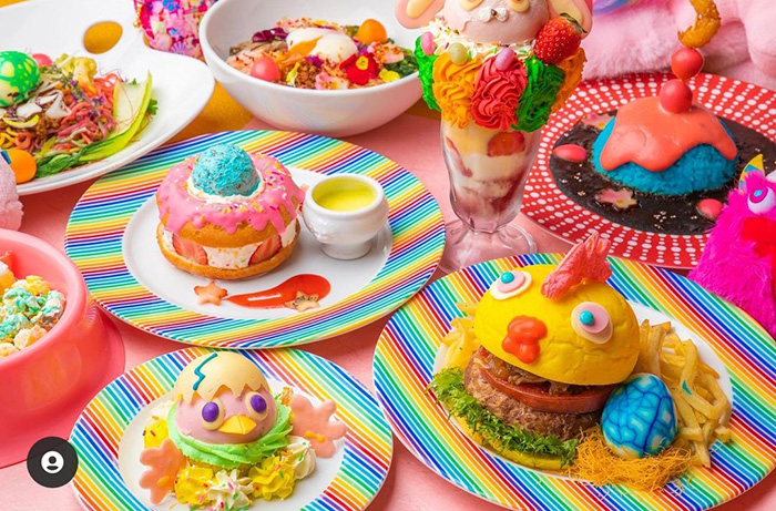 Kawaii Monster Cafe Menù
