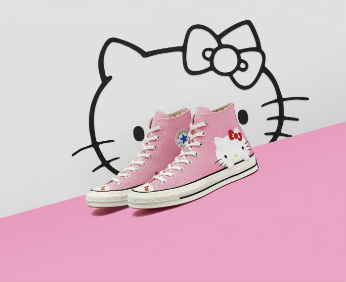 converse rosa hello kitty.